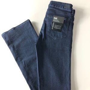 Paige Manhattan Mid-Rise Boot Cut jeans, 28